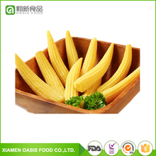 All types of non gmo yellow Canned baby Corn in water 400g