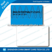 Hot sell high quality manufacturer pritable plastic sample id card design