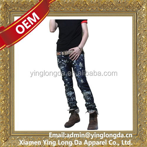 Alibaba china unique jeans for men