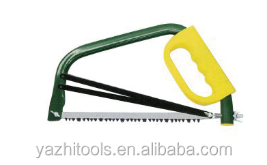 ABS handle double blades bow saw
