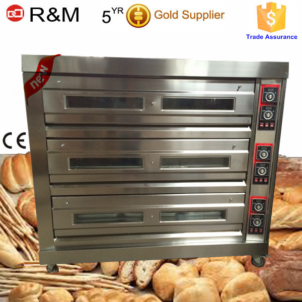 Guangzhou commercial bread machine bread baking oven used bakery oven for sale