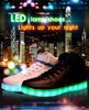 sneaker manufacturer zapatillas de deporte blinking flashing