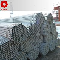 Steel Scaffolding Standard Galvanized Pipe For Construction Tianjin Best Price Q235 48.3 Hot Dip Galvanized Steel Pipe