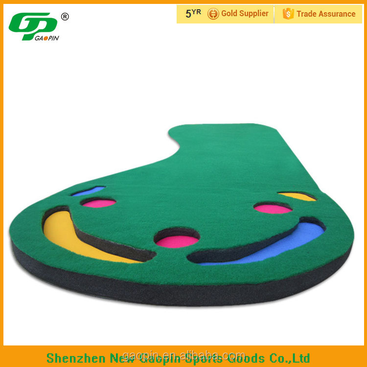 indoor golf game golf putting trainer, golf putting carpet