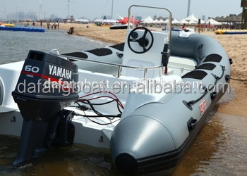 New pvc boat inflatable rib jet boats