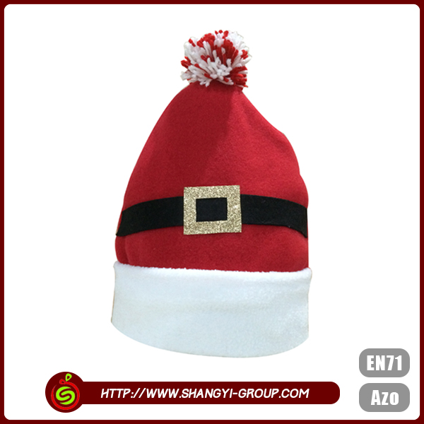 Kid custom christmas high quality happy new year party hat