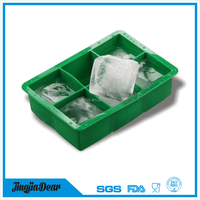 custom design food grade cheap promotional fruit silicone ice cube tray