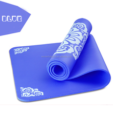 Multi Color Natural Rubber Open Cell Yoga Mat