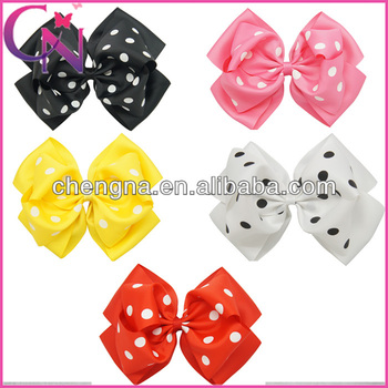 8 inch Jumbo Hair Bow Large Bow For Girls CNHBW-13110801