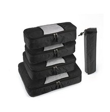 new design Waterproof Nylon packing cubes for carry on luggage best packing cubes for travel packing pods for suitcases