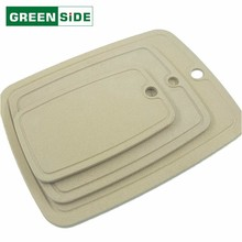 Wholesale non-slip texture design easy cleaning chopping board plastic