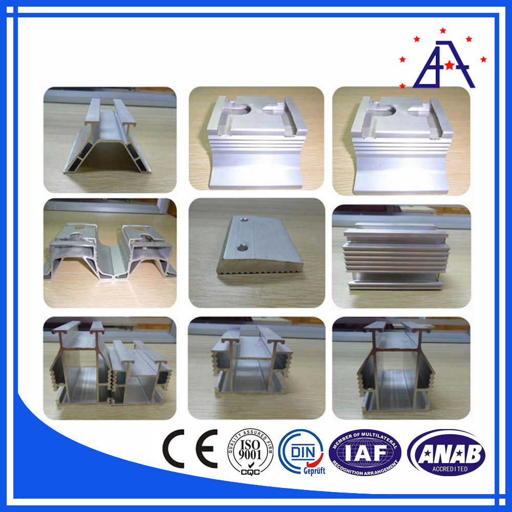 Industrial Aluminum Extruded Profile for Solar Panel