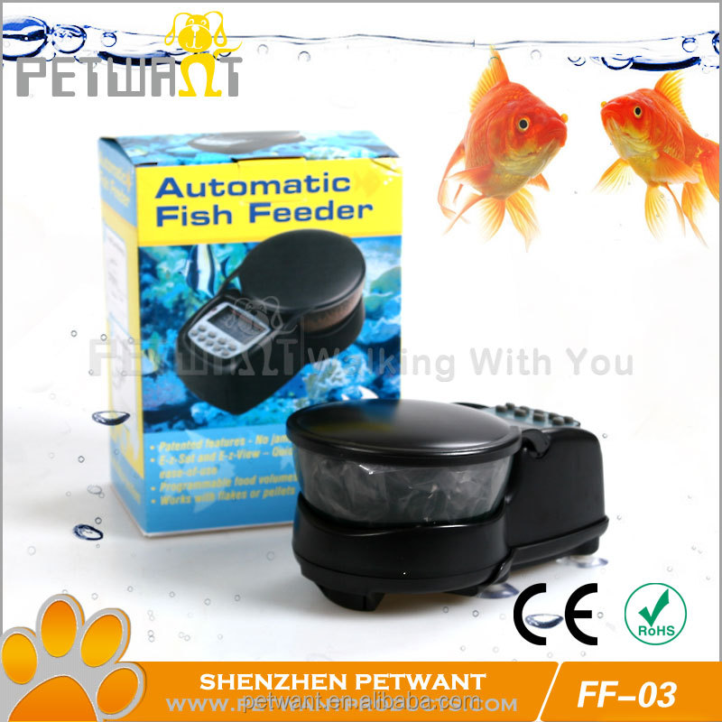 Automatic Fish Food Tank Feeder Timer with Battery