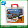 Customized hot-sale shinny pp non woven beer cooler bag
