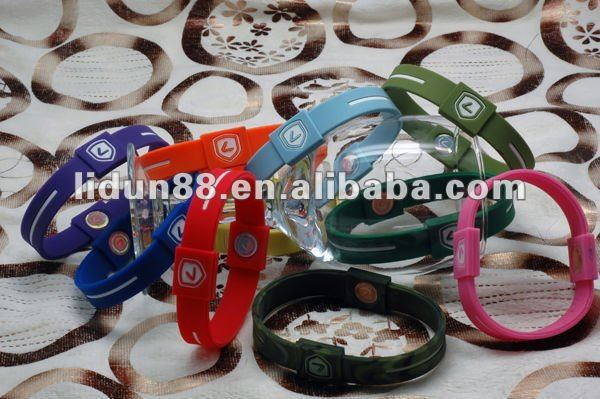 2012 pure silicone balance bracelet for promotional gift