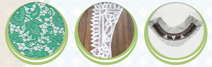 Swiss Organic Cotton Lace Fabric