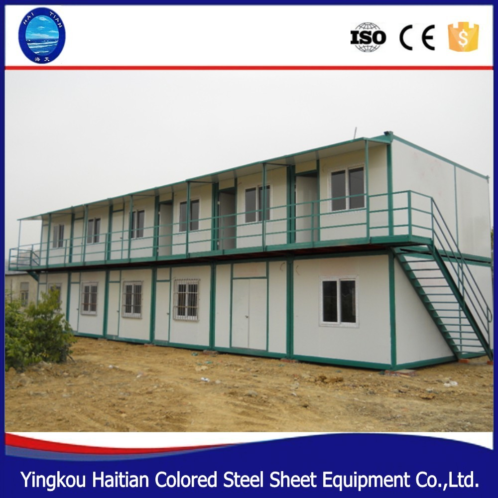 Hot sale Prefab Sandwich Panel Container House for Mining Camp modular house