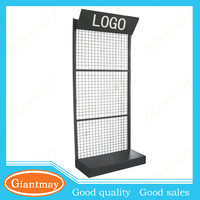 wall mount diy oem rack display stand for auto parts