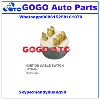 75063462 generator gas heater distributor parts ignition switch
