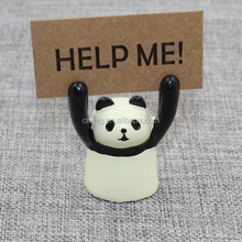 cute cat / panda/ pig / frog cheap knick-knack with memo clip