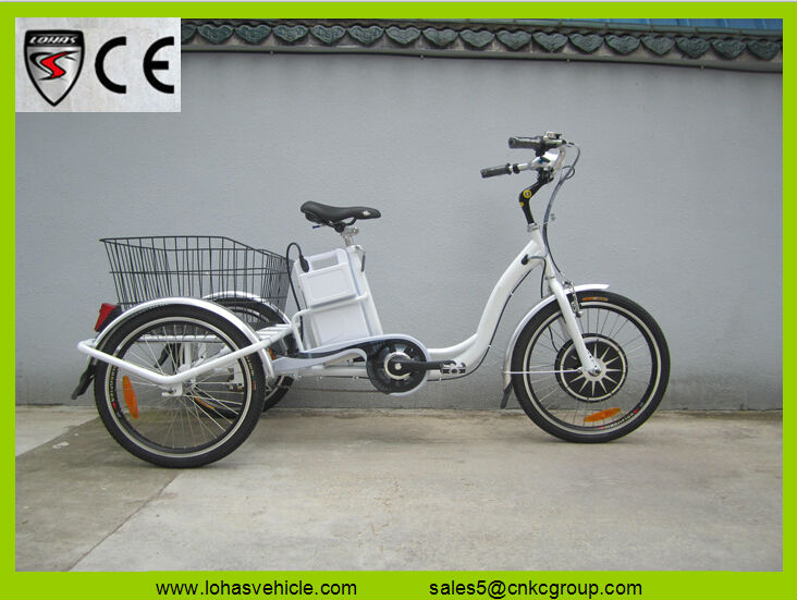 electric tricycle not used