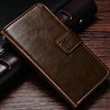 2016 Christmas 5/ 5S Slim Wallet Case Genuine Leather Flip Cover With Card Slot For Apple iPhone 5 5S