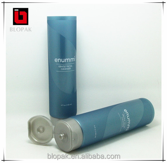 clear hair gel transparent plastic cosmetic tube