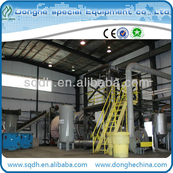 extract fuel oil from used plastic with CE/ISO and capacity of 15-20T/D waste plastic recycling machine