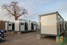 Multiusage Prefabricated flat pack container