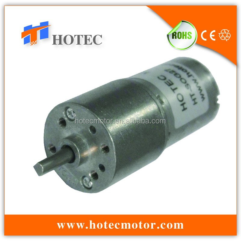 Low noise 6v 12v high torque 27mm gear motor for paper shredder