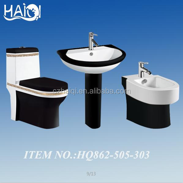 black toilet, colorful one-piece toilet,250mm roughing-in