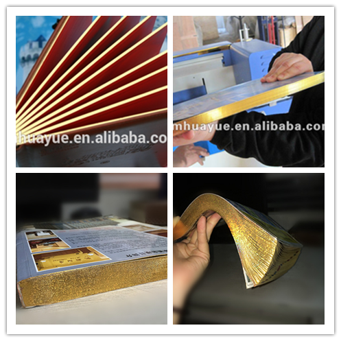 good price book edge making small gold machine