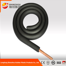 high quality Natural elastomeric rubber thermal insulation tube for HAVC system