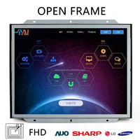 DIY 7 inch open frame lcd touch monitor