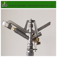 Aluminum Controllable Irrigation Water Sprinkler For Farm