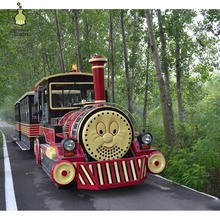 Low price high quality outdoor tourist train Thomas