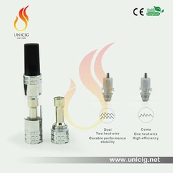 single or dual coil changeable coil head UNICIG l Indulgence Coma and Indulgence Mega atomizer