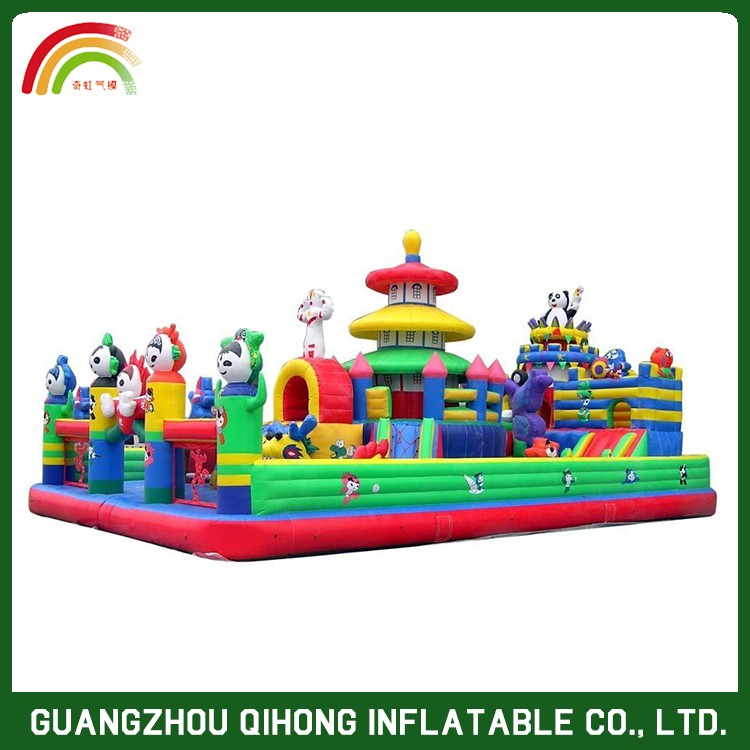 2017 High Quality Business Level Inflatable Slide The City,Water Slider For Adults