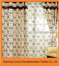 2012good sale modern design printed curtain