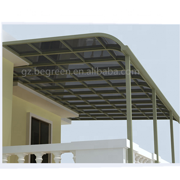 Incroyable Windproof Large Shade Balcony Roof Covering Patio Covers Electric Awning