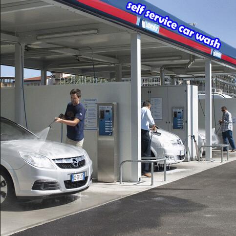 2014 Ce Coin card Operated Self Service Car Washself