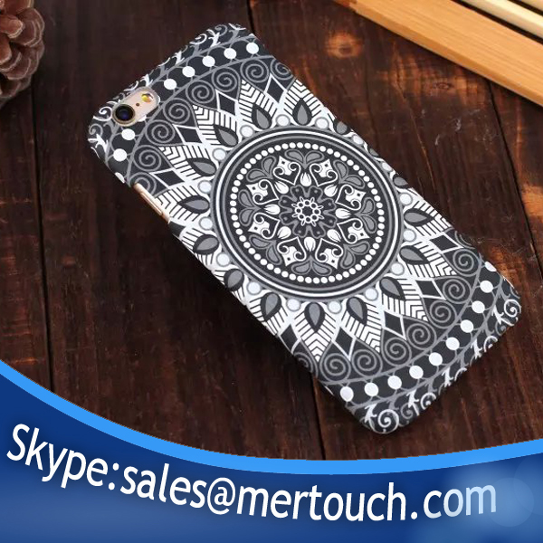 new products 2016 phone back cover for iphone 5 iphone 5s hard PC mandala back cover