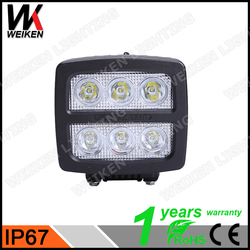 Best selling car accessories led work light 12v/ led driving light led work light for Vehicle Truck ATV SUV Jeep Boat