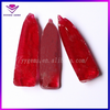 Half Boule Corundum Rough Synthetic Ruby Raw Material Gems