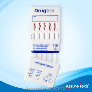 High quality 10 drugs rapid test panel