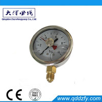 Pressure gauge for air compressor