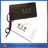 wholesale Custom cheap art paper hangtag