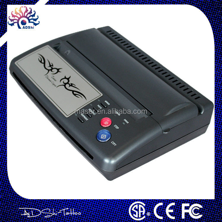 Tattoo factory supply professional thermal tattoo printer,black original USB tattoo stencil printer,stencil maker tattoo stencil