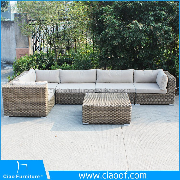 Creative Rattan Sofa Set Cane Furniture In Malaysia
