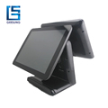 High accuracy resistive touch panel POS terminal with entertainment